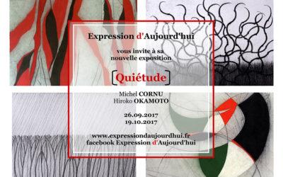 Exposition «Quiétude» au Couvent des Dominicains à Paris – septembre-octobre 2017